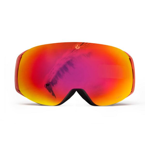 Skibrille naked optics FOCE EVO Saalbach Edition
