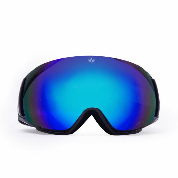 Skibrille naked optics FOCE EVO Saalbach Black Edition